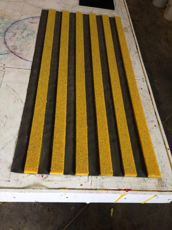 roll up Rig pipe traction mats