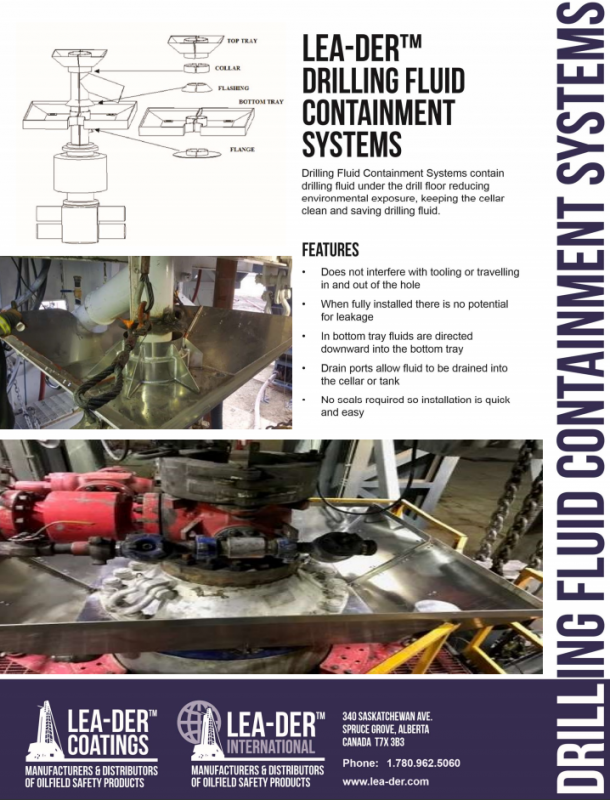 Oilfield Fluid Containment System